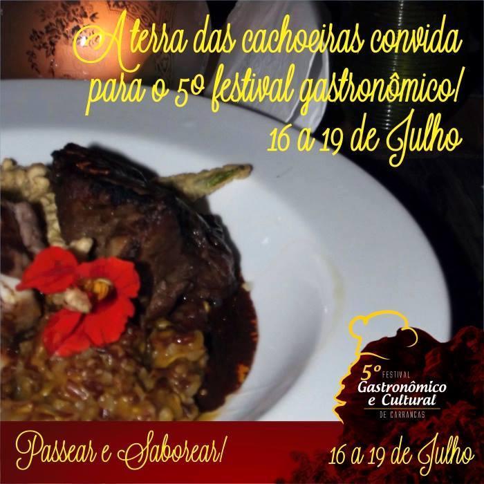 Festival de Gastronomia em Carrancas encara a crise