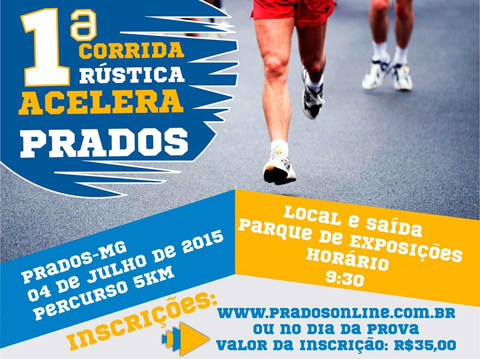 Competição coloca Prados para correr