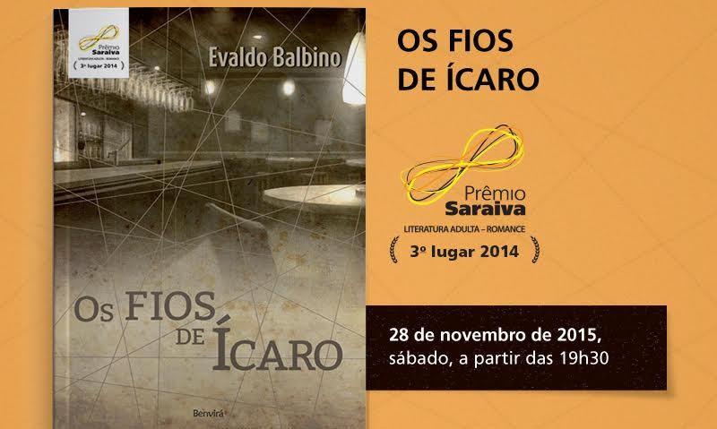 Mineiro Evaldo Balbino lança premiado livro em Resende Costa