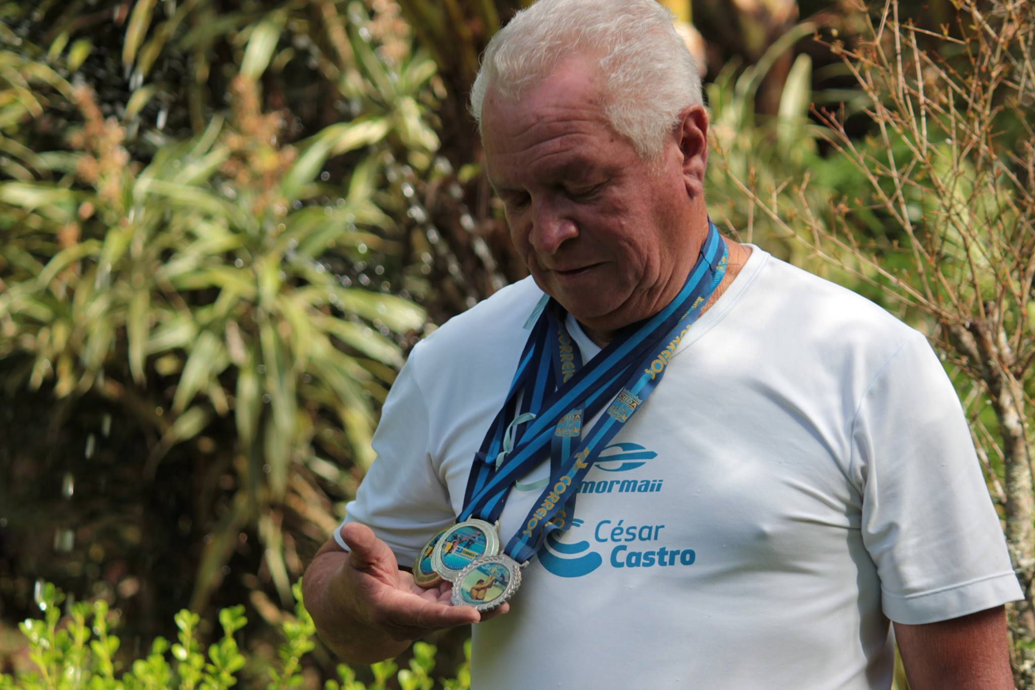 Jorge: o pai do atleta olímpico