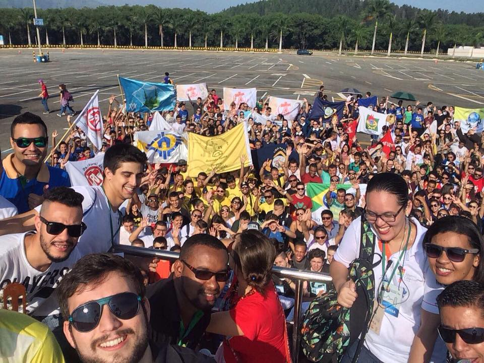 Jovens da região marcam presença na Romaria Nacional da Juventude