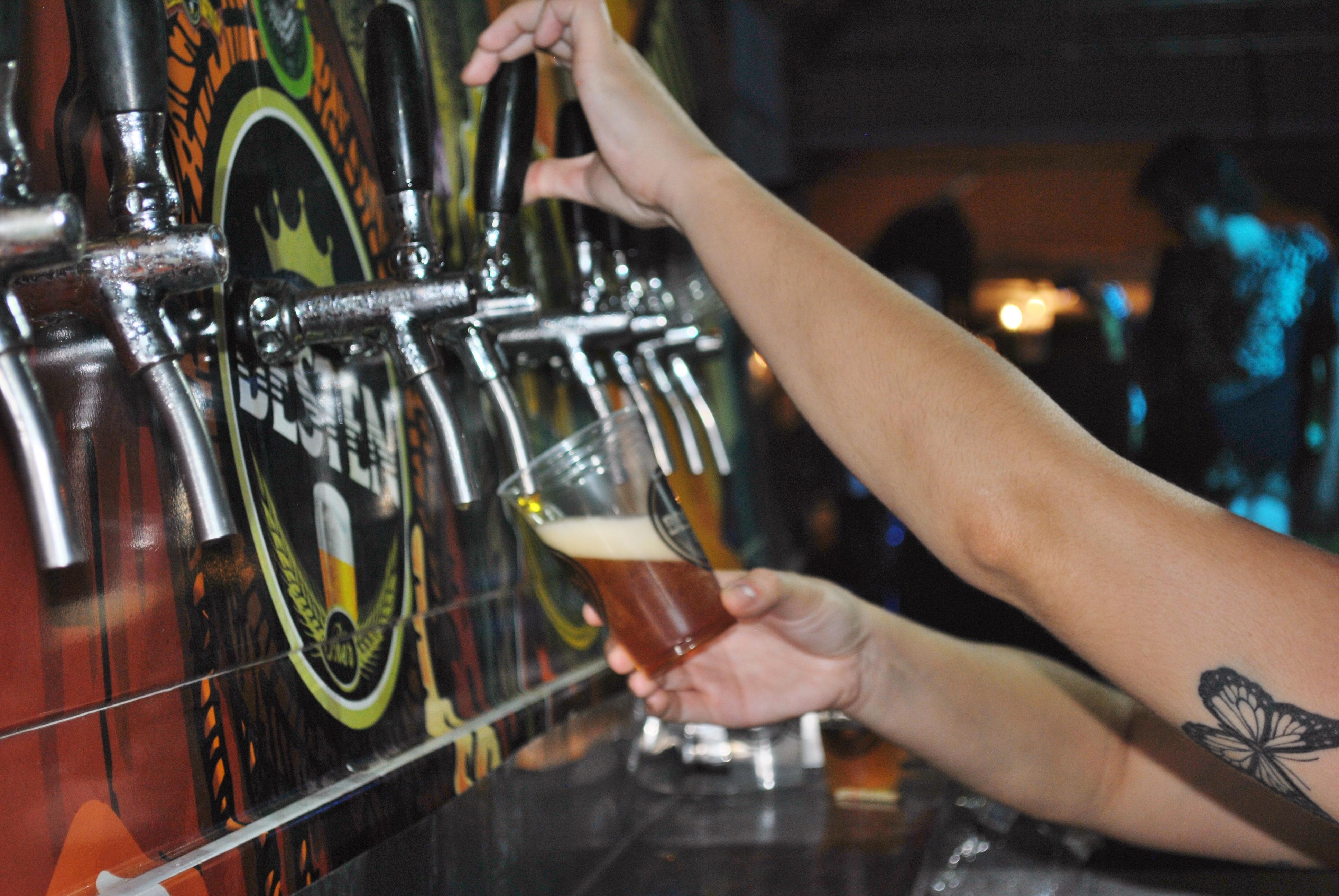 A cerveja artesanal ganhou destaque no evento. FOTO/VAN: Lucas Almeida