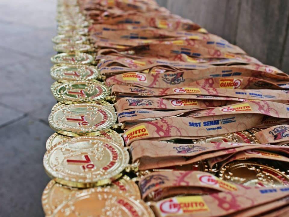 Na última edição, houve entrega de medalhas para todos os participante. A ação se repete este ano. FOTO: Divulgação