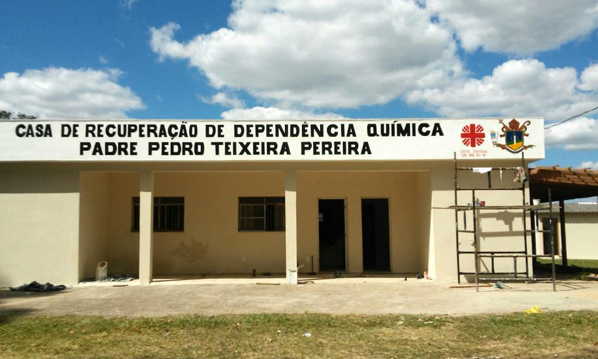 Cáritas Diocesana de SJDR inaugura Casa de reabilitação para dependentes químicos