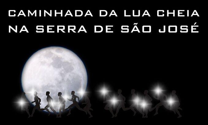 Caminhada da lua cheia acontece em Tiradentes
