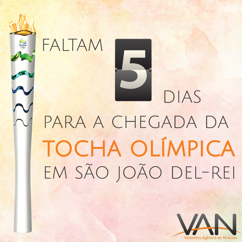 Tocha Olímpica continua em Minas Gerais e está cada vez mais perto de SJDR