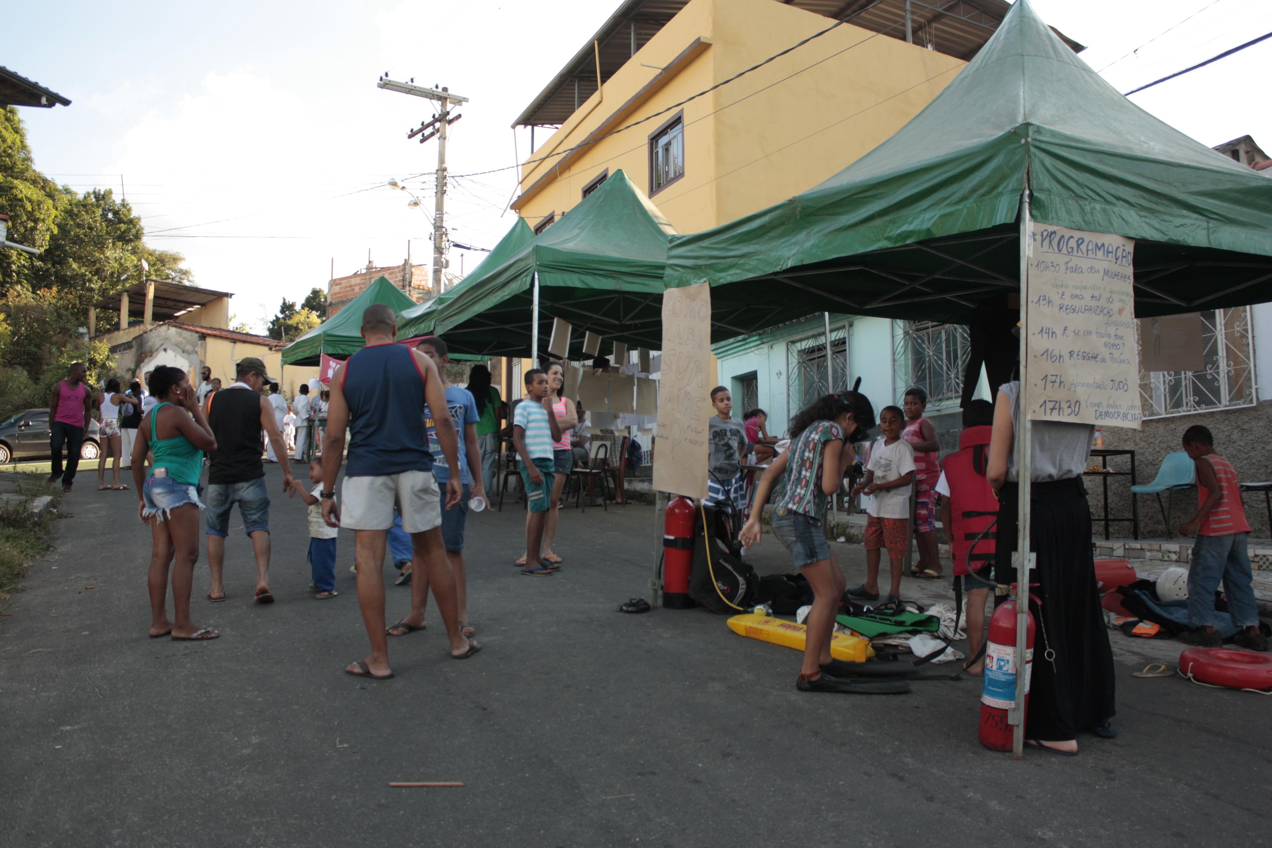 Feira de integração é realizada no bairro São Dimas