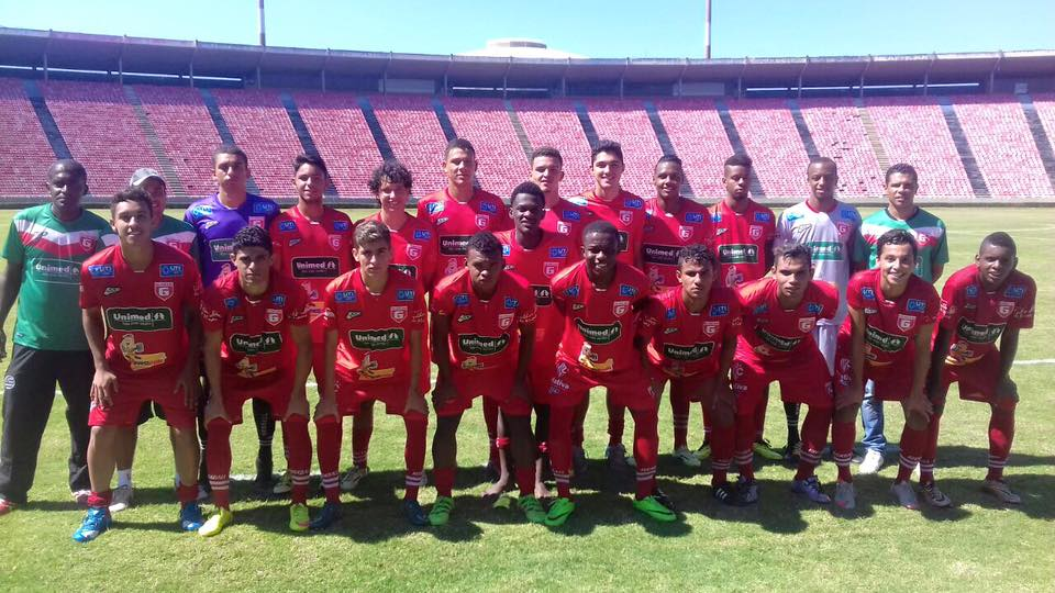 Equipe do Sub-20. FOTO: Athletic Club Futebol/Facebook