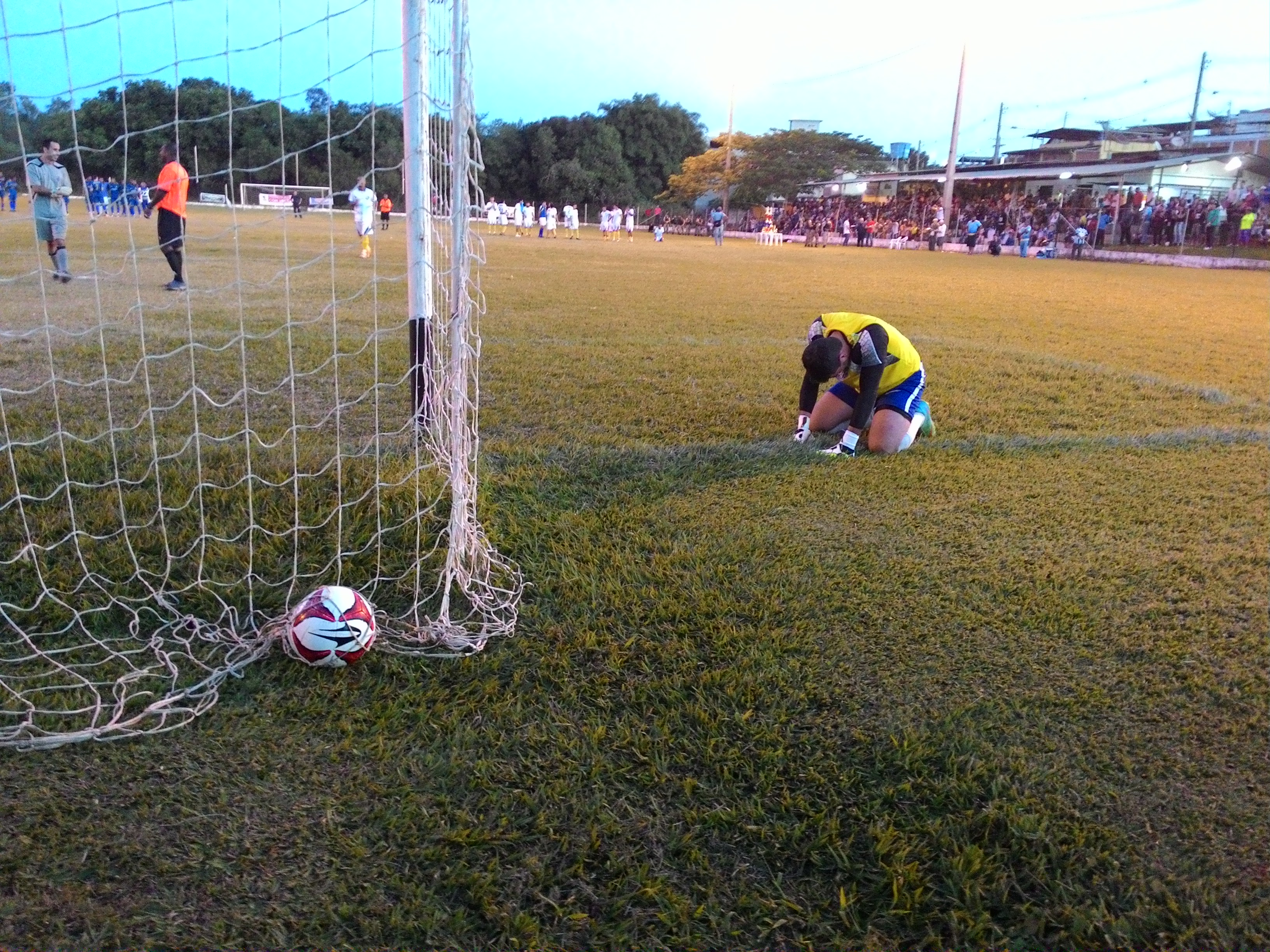 A Copa SJDR de Futebol Amador foi decidida nos pênaltis. FOTO/VAN: Anna Virgínia