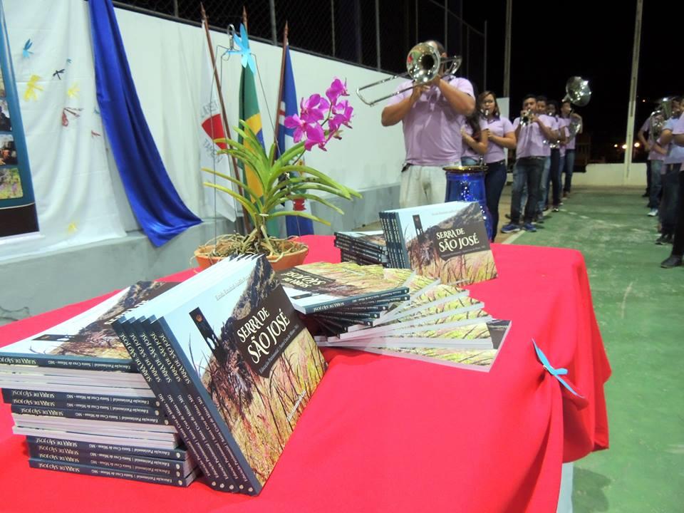O evento contou com a presença da Corporação Musical São Sebastião. FOTO: Luiz Antonio Cruz