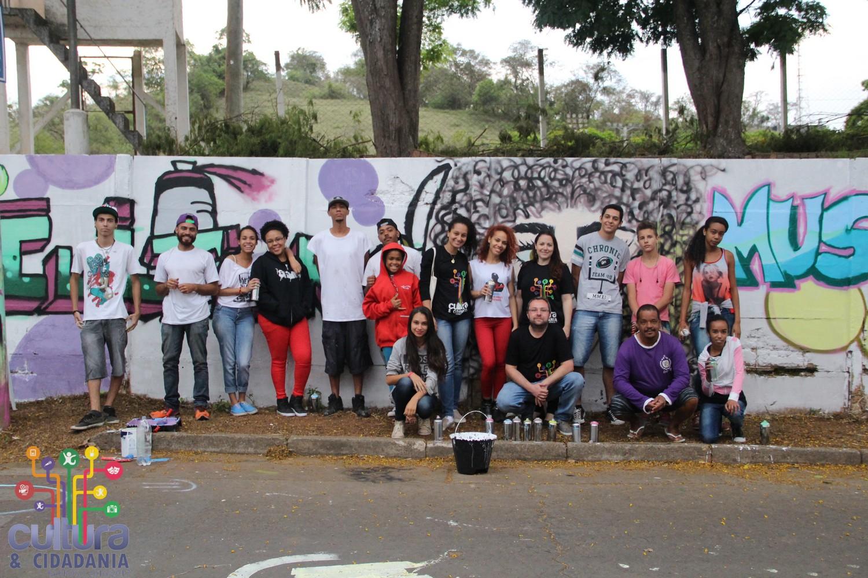 Oficina de Grafitti faz parte da programação do evento. FOTO: Divulgação