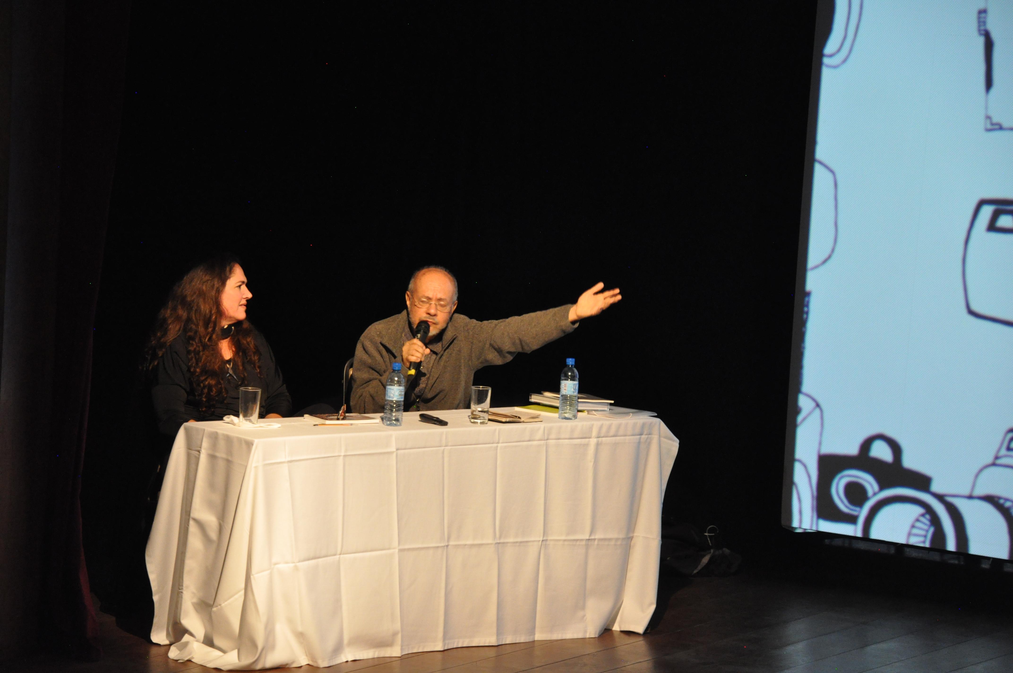 Joaquim Paiva mostrou seu trabalho ao público, que esgotou as entradas para prestigiar o fotógrafo e seu trabalho. (Foto: Scarlet Freitas e Vanessa Vicente/VAN)