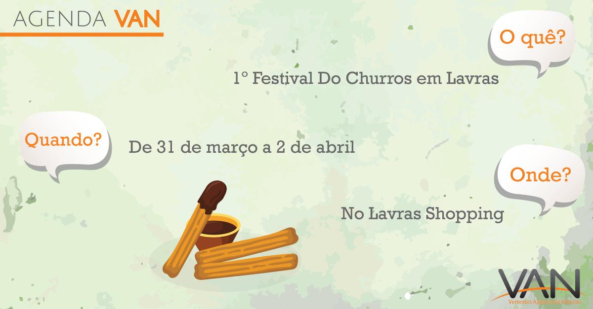 Lavras recebe festival de churros