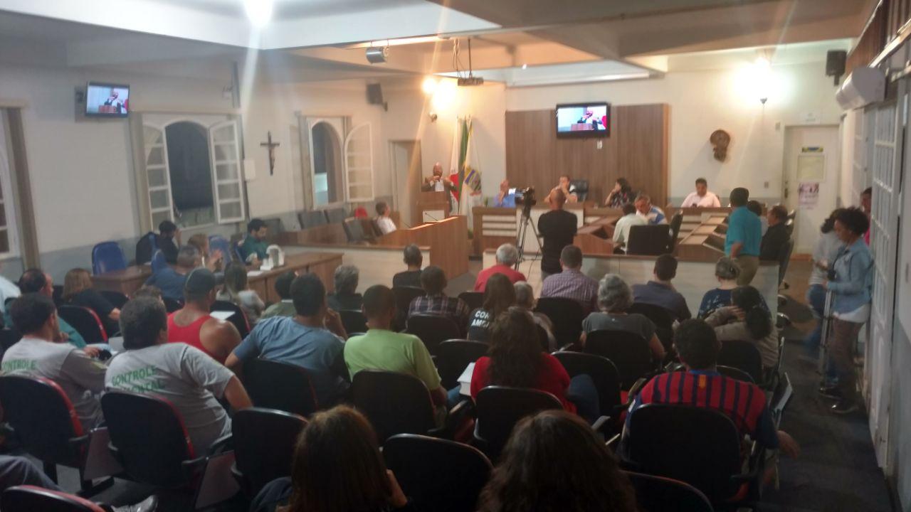 Audiência pública discute projeto de instalação de hidrômetros na cidade de SJDR