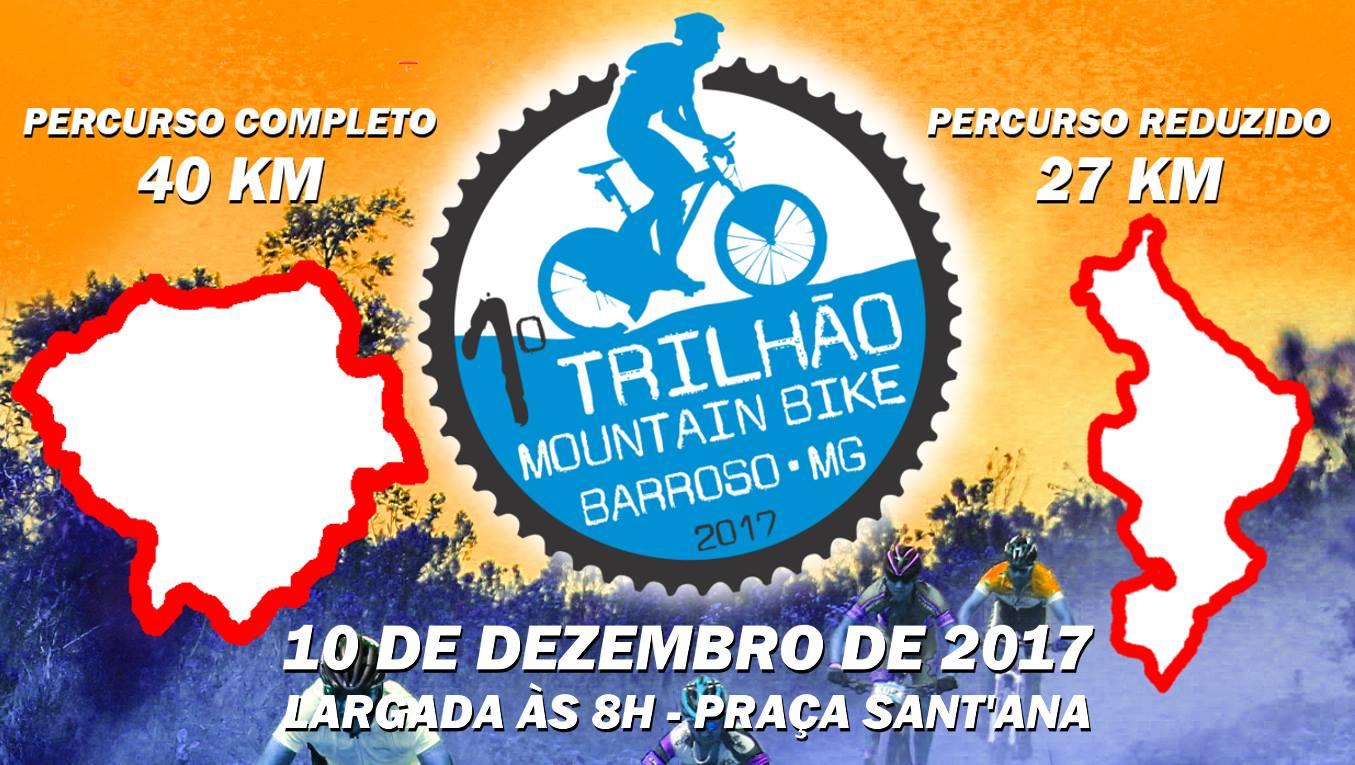 Trilhão de Mountain Bike comemora aniversário de Barroso