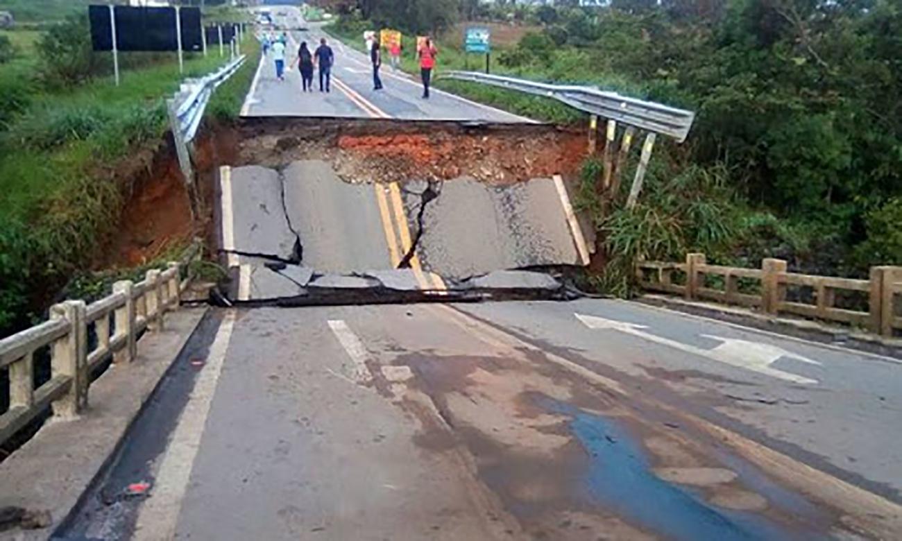 Ponte de Nazareno não tem previsão de conserto