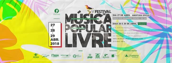 Instituto Curupira realiza evento de música popular em Barbacena