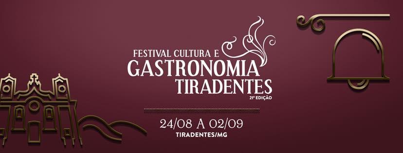 Festival Cultura e Gastronomia Tiradentes tem início na próxima sexta-feira (24)