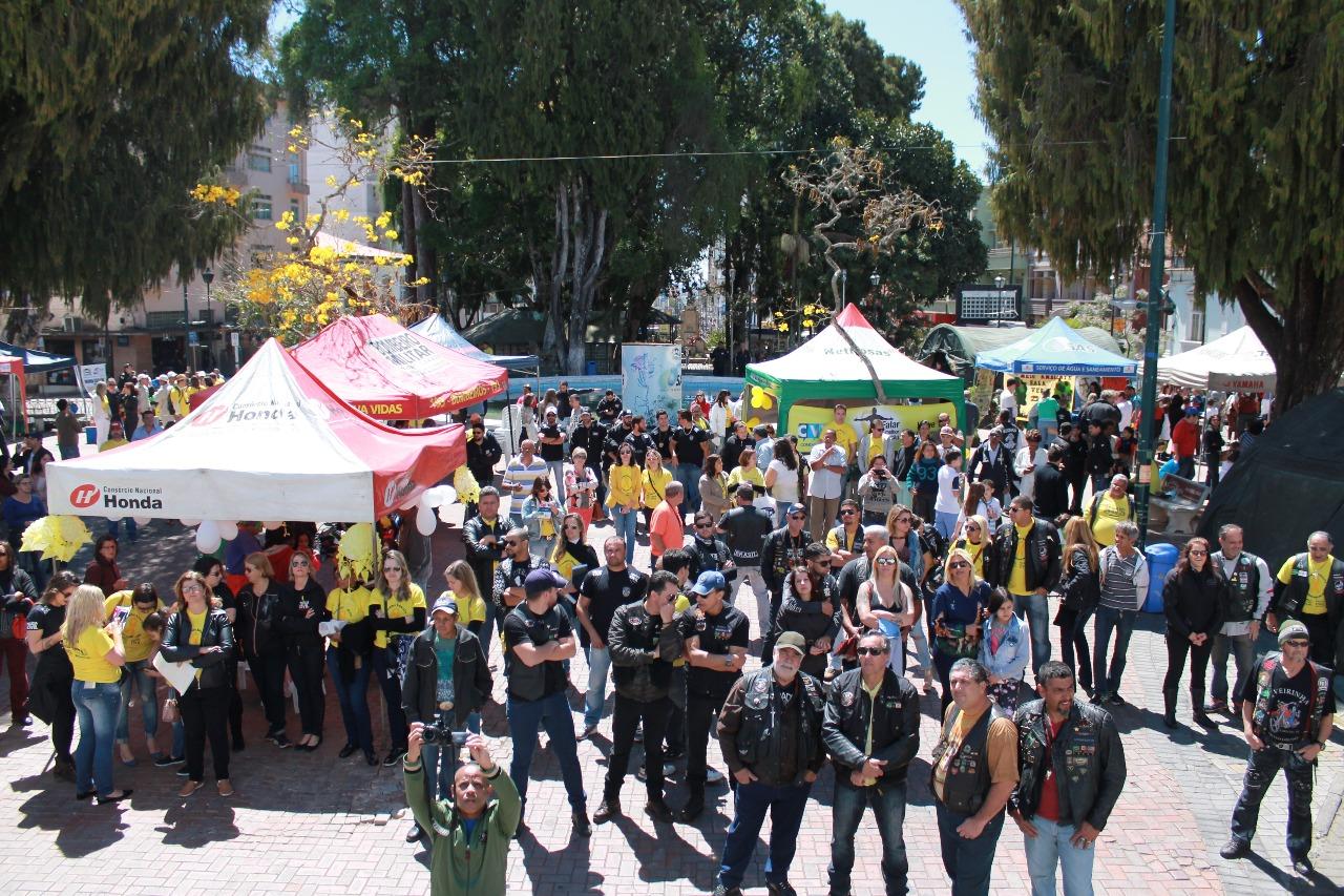 Ações do Setembro Amarelo ocorrem durante todo o mês em Barbacena
