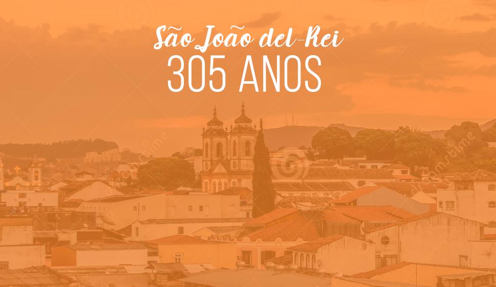Confira a programação de São João del-Rei para o aniversário de 305 anos da cidade