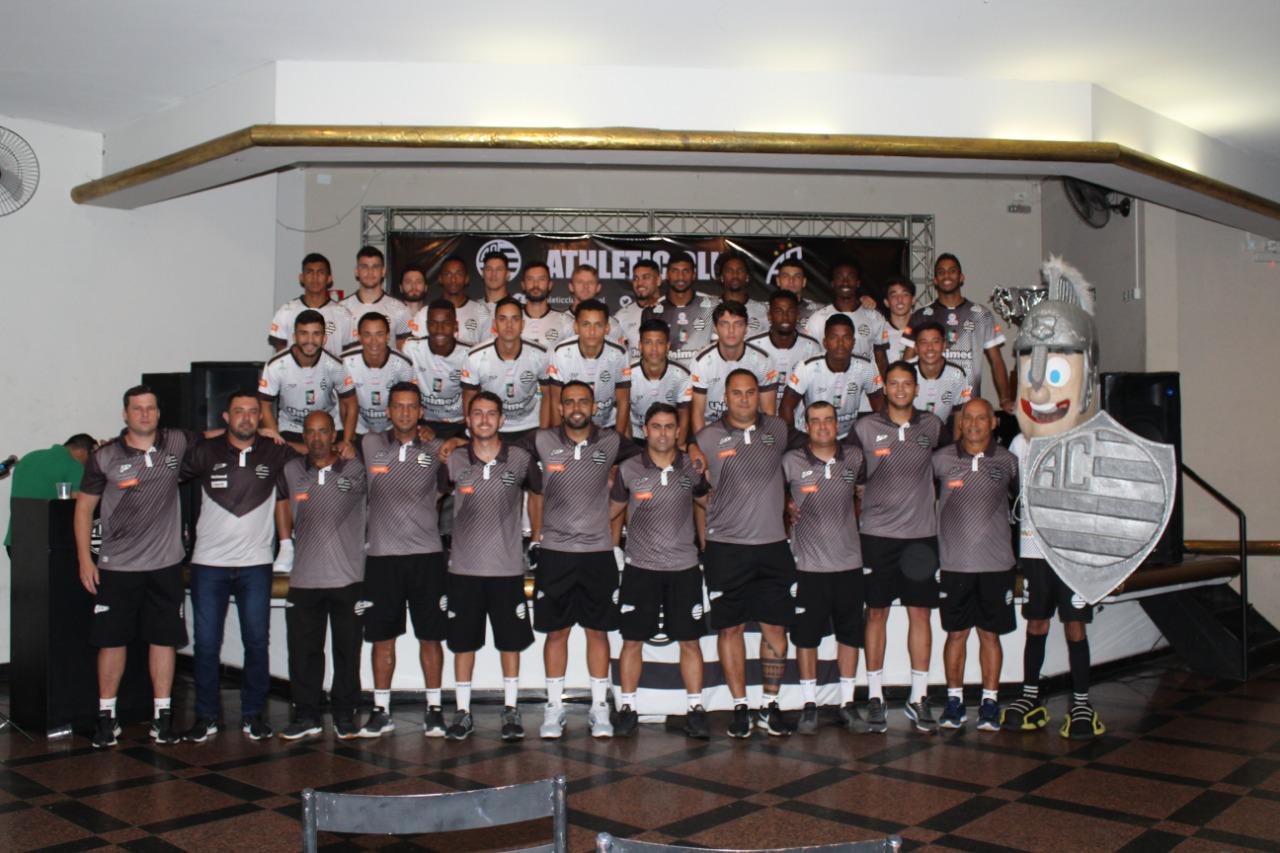 Athletic Club apresenta elenco e comissão técnica para a temporada